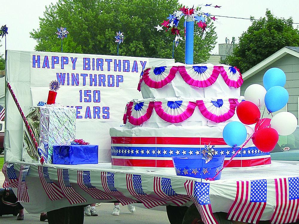 Winthrop Sesquicentennial Float
