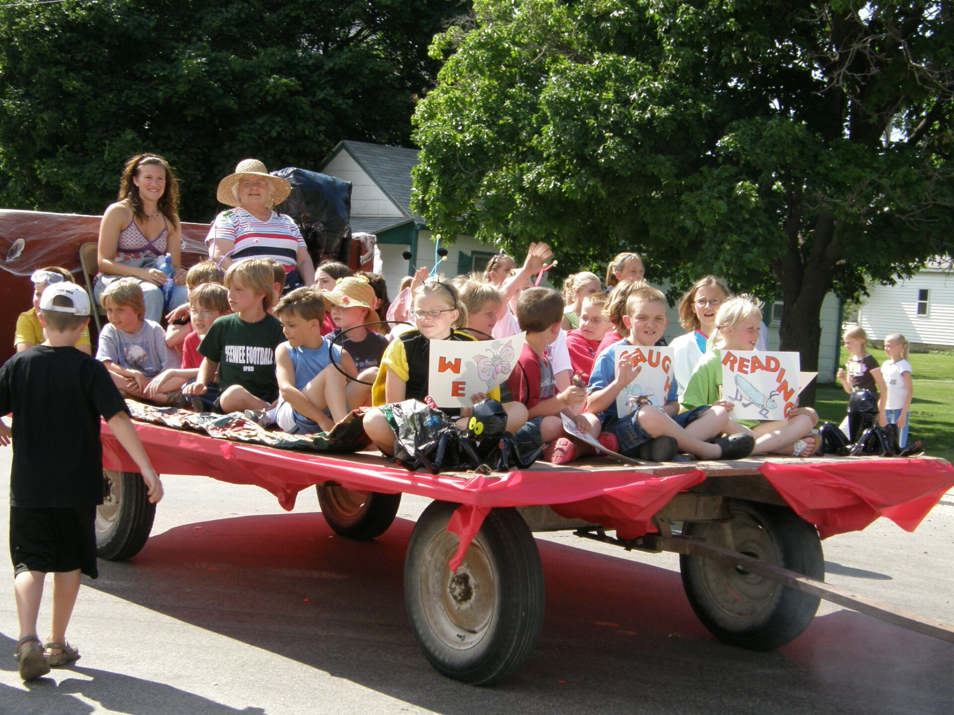 float in the parade