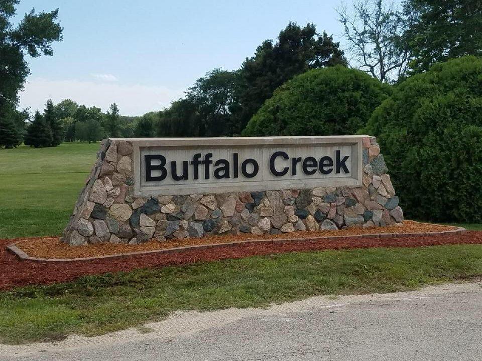 buffalo creek sign